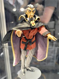Dr. Orpheus Action Figure Debut