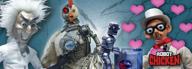 Robot Chicken Logo Robot Chicken